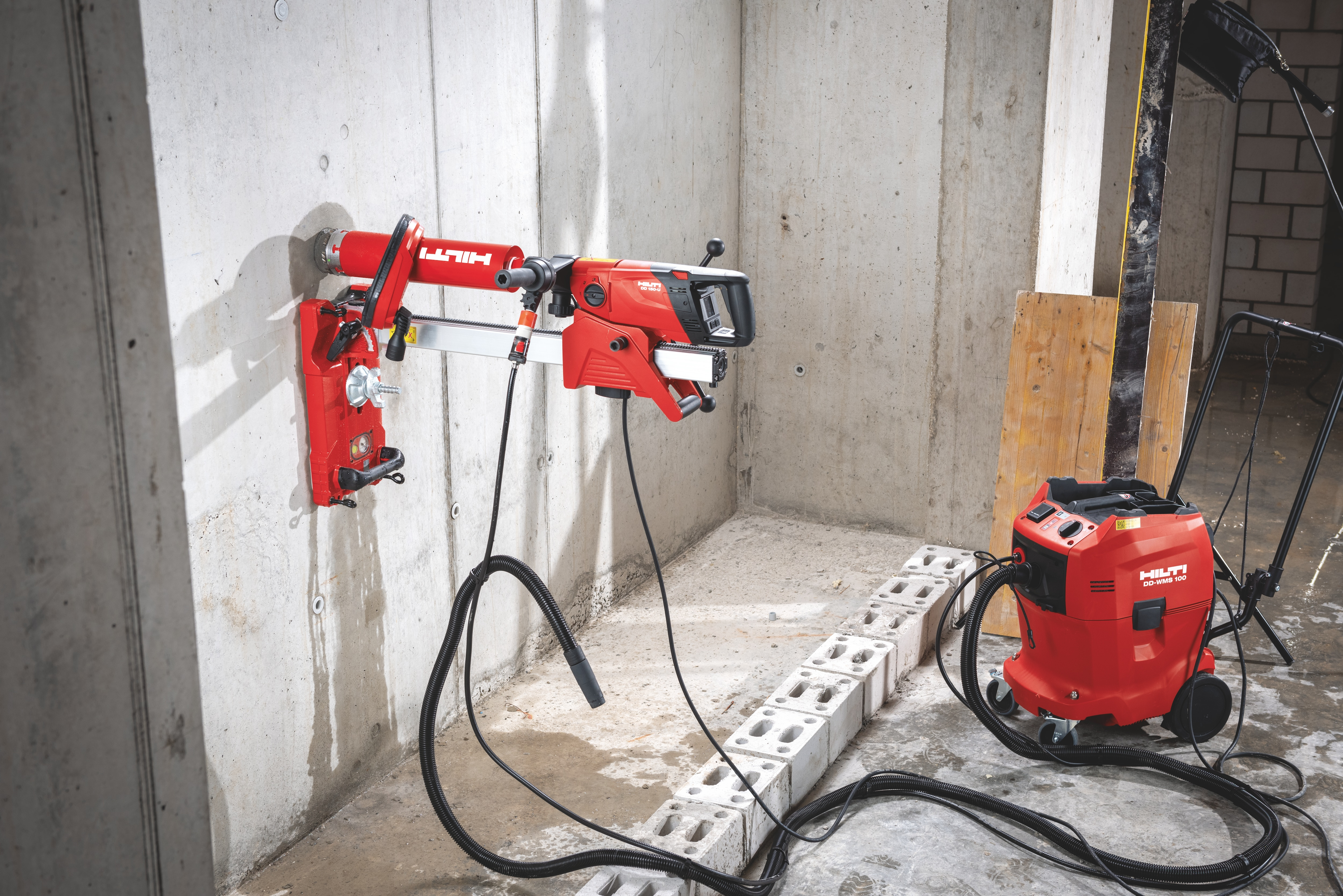 Hilti diamond drilling solutions