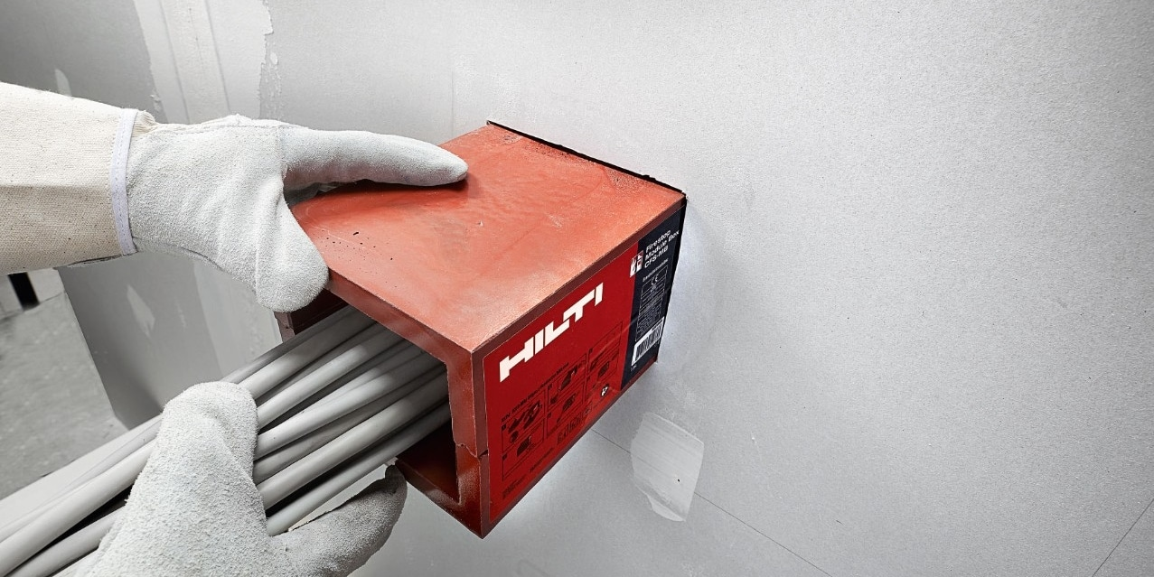 Hilti firestop module box