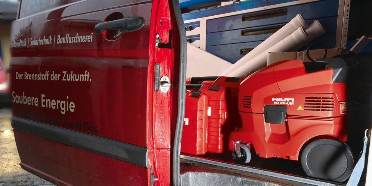 Hilti fleet management